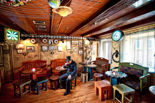 кафе Дом легенд
