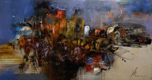 Выставка живописи Петра Сметаны